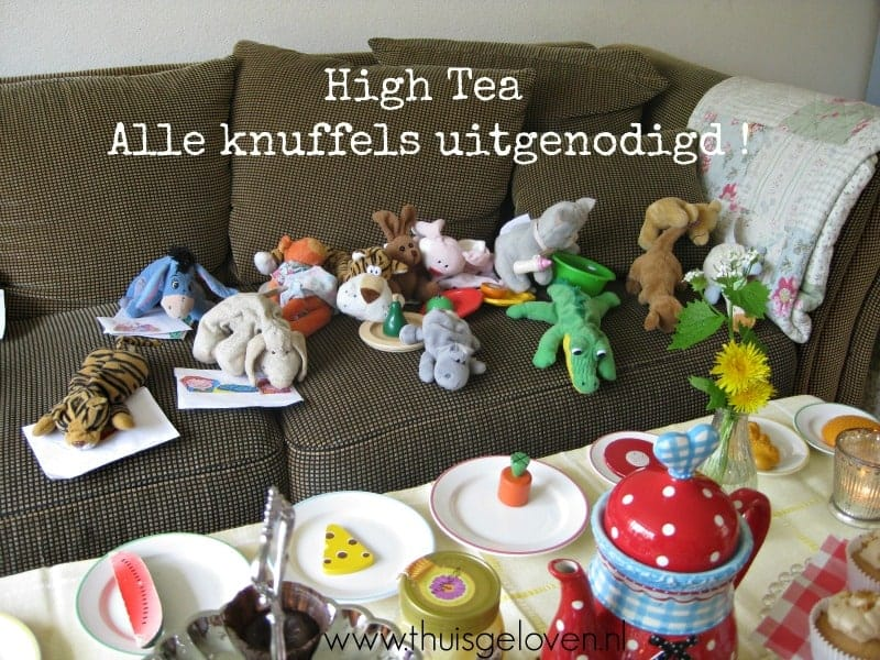 High tea knuffels