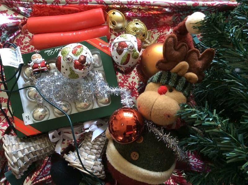 single kerst gezinsmoment
