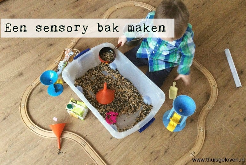 sensory bak maken