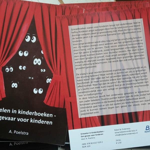 Kinderboekenweek 'Gruwelijk eng' wat zing jij?